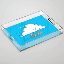 Cloud Skater Acrylic Tray