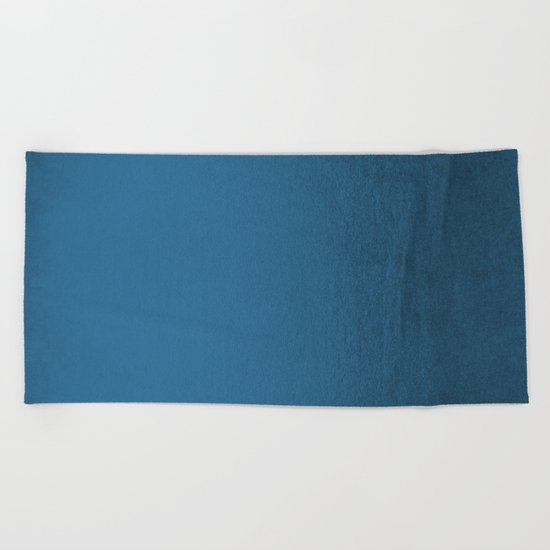 Saltwater Taffy Teal Shimmer Beach Towel
