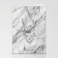 donnie darko Stationery Cards featuring Donnie Darko Marble by JulietteEp