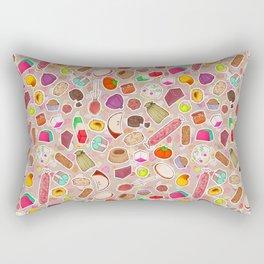 I Love Mexican Candy Rectangular Pillow