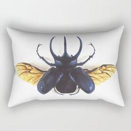 Atlas Beetle Rectangular Pillow
