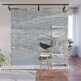 bird wading Wall Mural