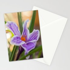 Spring Crocus Stationery Cards