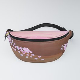Pink blossom Fanny Pack