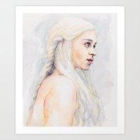 danny ivan Art Prints featuring Danny by Maria Bruggeman