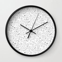 Kawaii desu Wall Clock
