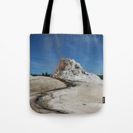 White Dome Tote Bag