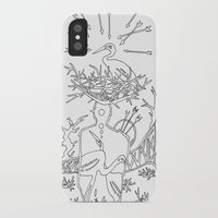 cowboy iPhone & iPod Cases featuring Cowboy by Mariia Krugliakova