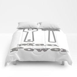 Man Power Comforters