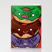 donut Stationery Cards featuring Donut by jeff'walker
