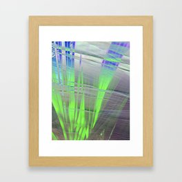 Flat blades Framed Art Print