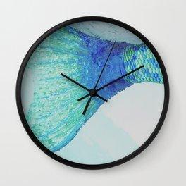 swim away with me Wall Clock