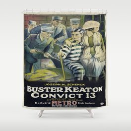 Vintage poster - Convict 13 Shower Curtain