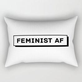 Feminist AF Rectangular Pillow