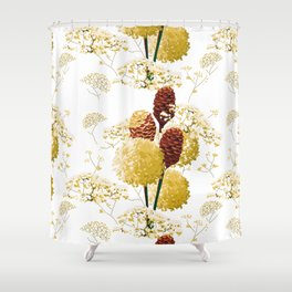 Wild bouquet Shower Curtain