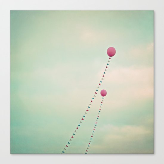 Whimsical Balloons Canvas Print