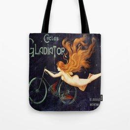 Vintage poster - Cycles Gladiator Tote Bag