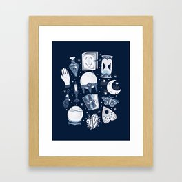 Dark Mystical Framed Art Print