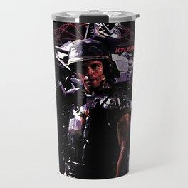 Kyle Reese Revenge Aliens Terminator 80s synthwave Travel Mug