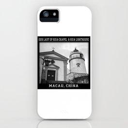Macau Church iPhone Case