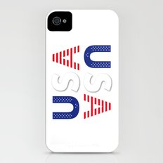 USA United States of America iPhone (4, 4s) Slim Case