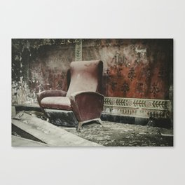 The Holy Seat Canvas Print