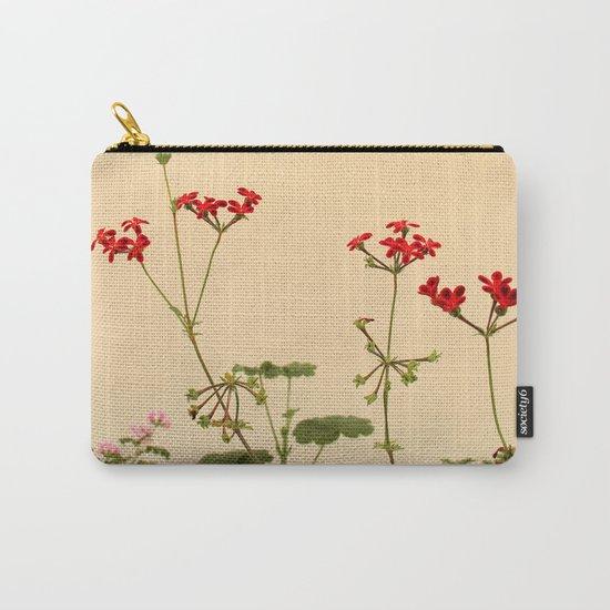 Geraniums (Pelargonium) #6 Carry-All Pouch