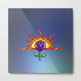 Royal Tudor's Sunrise Metal Print