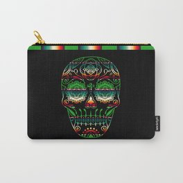 Deco Sugar Skull 4 Carry-All Pouch