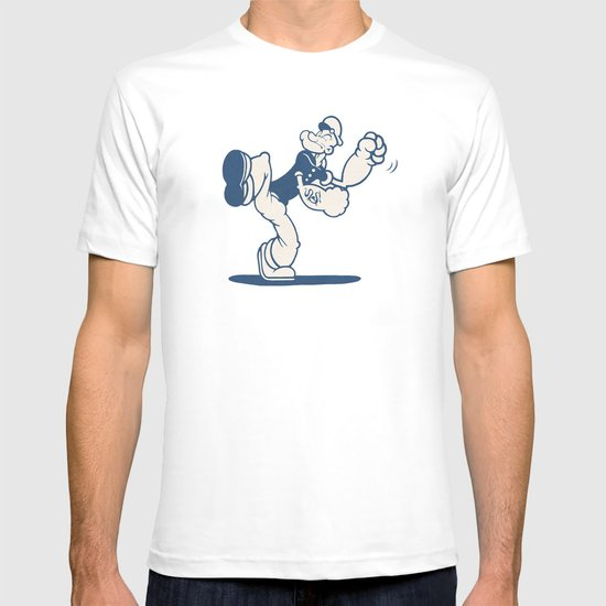 the Sailor with Dragon Tatoo T-shirt