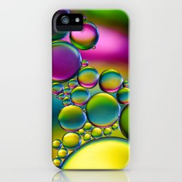 """Spherical Joining"" - Oil and Water iPhone Case"
