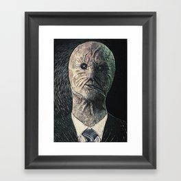 Dr. Decker Framed Art Print