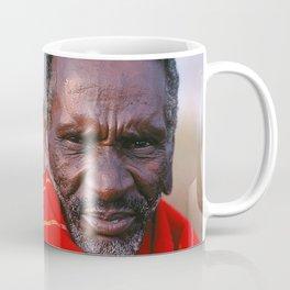 African Maasai Elder Coffee Mug