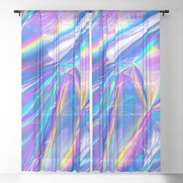 Just A Hologram Sheer Curtain