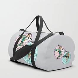 Moroccan Birds Duffle Bag