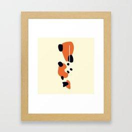 Kin Showa Koi Framed Art Print