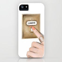 Lumiere Galaxy iPhone Case