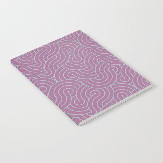 SWIRL / candy Notebook