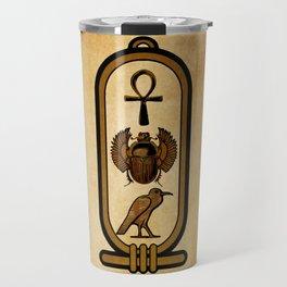 Egyptian cartouche Travel Mug