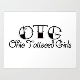 OTG Logo - Basic Art Print