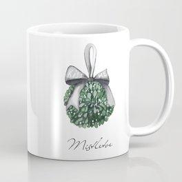 Kiss Me Under the Mistletoe Coffee Mug