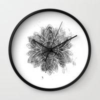 flawless Wall Clocks featuring flawless by ridwanafid