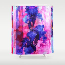 Cosmic seedling Shower Curtain