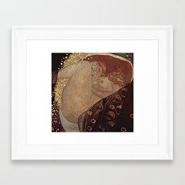 Danae  - Gustav Klimt Framed Art Print