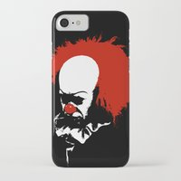 pennywise iPhone & iPod Cases featuring Pennywise by KlatuCorp