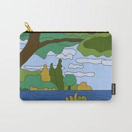 River Landscape Carry-All Pouch