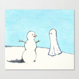 Winter Ghost Canvas Print