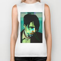 wes anderson Biker Tanks featuring Brett Anderson by zomplag