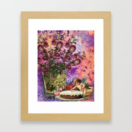 BIRTHDAY WISHES Framed Art Print