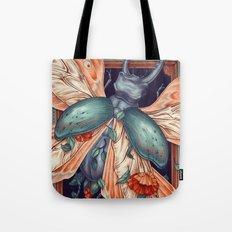 Moth Beetle Tote Bag